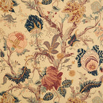 Schumacher Indian Arbre Tea Fabric