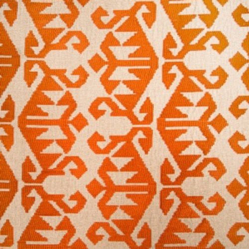 Vervain Carpet Pumpkin Fabric - Fabric