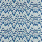 Schumacher Valkyrie Flame Stitch Delft Fabric