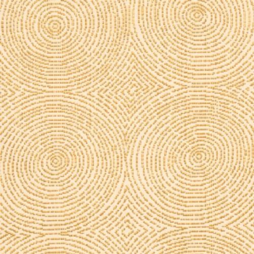 Vervain Crop Art Circles Honeyopal Fabric - Fabric