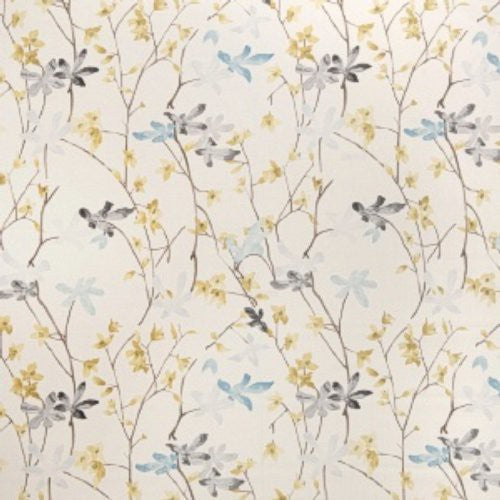 Vervain Flora And Fauna Wildflower Fabric - Fabric