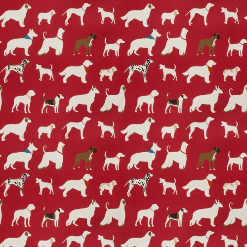 Trend 03499 Red Fabric - Fabric