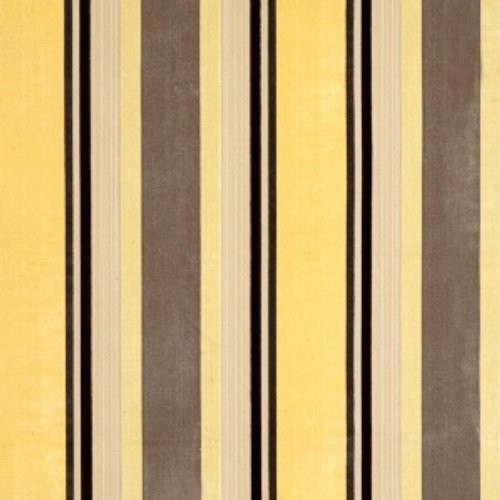 Vervain Gene Stripe Yellow Maize Fabric - Fabric