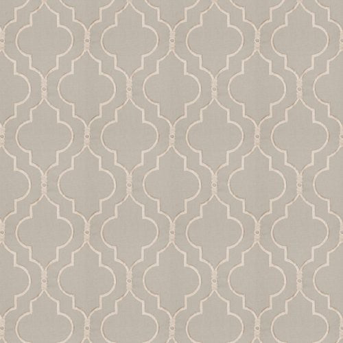 Fabricut Four Queens Dove Fabric - Fabric