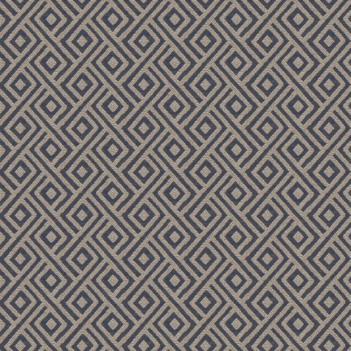 Fabricut Destination Navy Fabric - Fabric