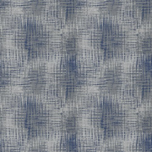 Fabricut Double Decker Navy Fabric - Fabric