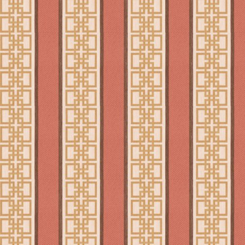 Fabricut Signet Too Papaya Fabric - Fabric