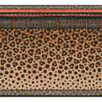 Cole & Son Zulu Border Red & Brown Wallpaper