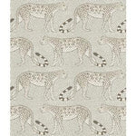 Cole & Son Leopard Walk Black & White Wallpaper