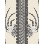 Cole & Son Jabu Black & White Wallpaper