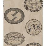 Cole & Son Matrinah Stone & Gilver Wallpaper