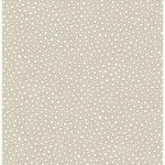 Cole & Son Senzo Spot Stone & White Wallpaper