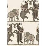 Cole & Son Safari Dance Neutral & Charcoal Wallpaper