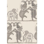 Cole & Son Safari Dance Pale Stone & Grey Wallpaper
