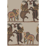 Cole & Son Safari Dance Red & Linen Wallpaper