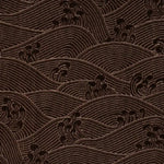 Vervain Stonewaves Walnut Fabric