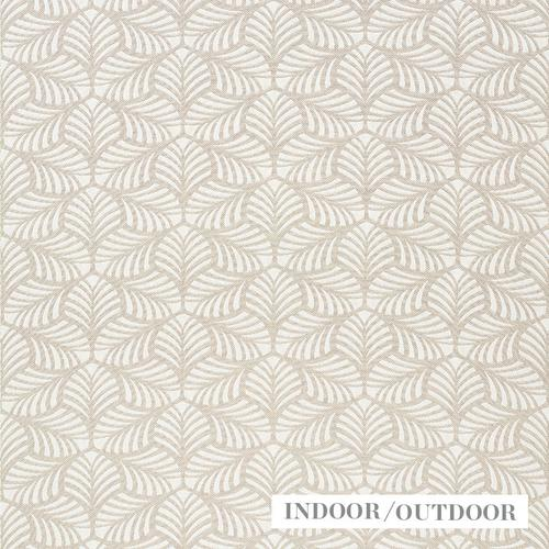 Schumacher Sonia Ii Natural Fabric - Fabric