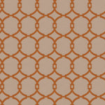 Trend 03186 Burnt Orange Fabric