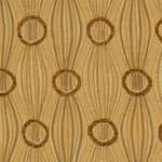 S. Harris Alter Ego Leaf Gold Fabric
