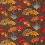 Fabricut Exotic Fans Autumn Fabric