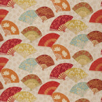 Fabricut Exotic Fans Canyon Fabric