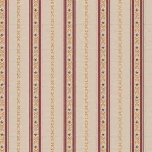 Fabricut Regal Stripe Mulberry Fabric - Fabric