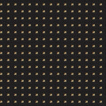 Fabricut Studded Squares Gold Fabric