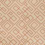 Fabricut Addison Rd Orange Fabric