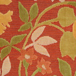 S. Harris Festive Floral Citrus Berry Fabric
