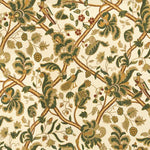 Lee Jofa Bloomsbury Forest/Berry Fabric