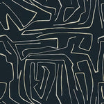 Groundworks Graffito Onyx/Beige Fabric