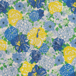 Lee Jofa Heritage Floral Blue/Yellow Fabric