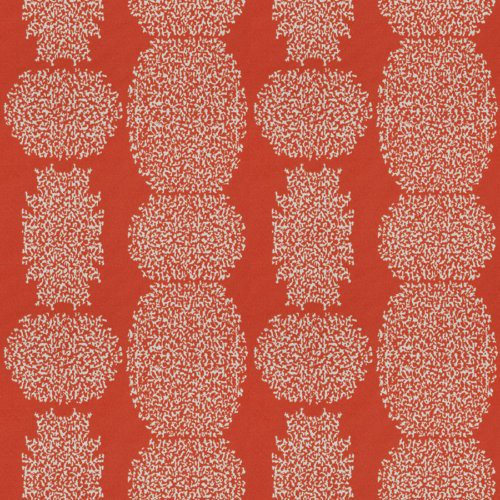 Fabricut Beaded Batik Tigerlily Fabric - Fabric