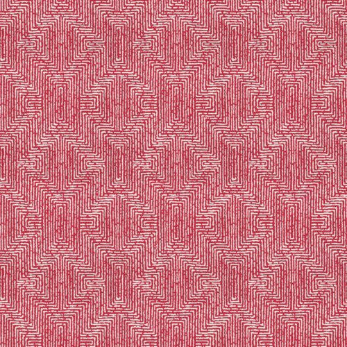 Fabricut Earth Maze Watermelon Fabric - Fabric