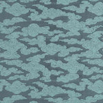 G P & J Baker Clouds Slate Blue Fabric