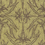Groundworks Lily Branch Lime Fabric