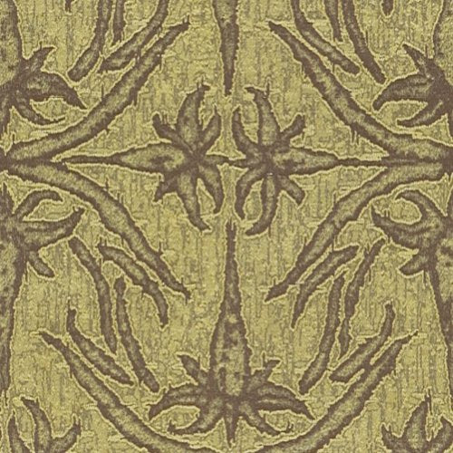 Groundworks Lily Branch Lime Fabric - Fabric