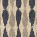 Groundworks Ikat Drops Midnight Fabric