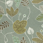 Groundworks Ventana Leaf Aqua Fabric