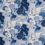 Schumacher Pearl River Blues Fabric