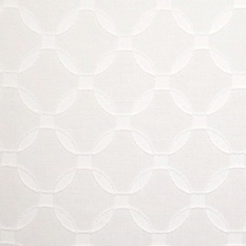 S. Harris Octagon Gate Coconut Fabric - Fabric