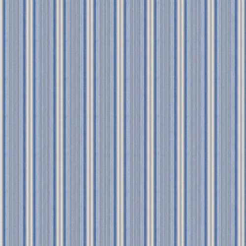 Stroheim Basque Blue Fabric - Fabric