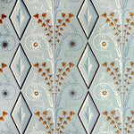 Brunschwig & Fils Gallier Diamond Seafoam Wallpaper