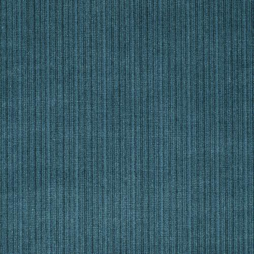 Schumacher Antique Strie Velvet Teal Fabric - Fabric