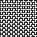 Schumacher Betwixt Black / White Fabric
