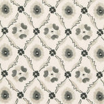 Schumacher Claremont Embroidery Grisaille Fabric