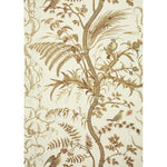 Brunschwig & Fils Bird And Thistle Beige Wallpaper