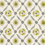 Schumacher Claremont Embroidery Chartreuse Fabric