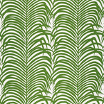 Schumacher Zebra Palm Jungle Fabric