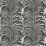 Schumacher Zebra Palm Ebony Fabric